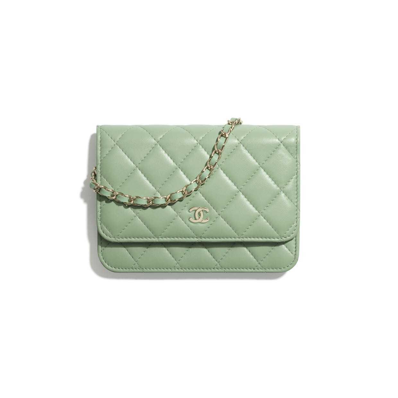 CHANEL CHANEL ☆mini wallet on chain ☆AP1649 Y04059 NA107