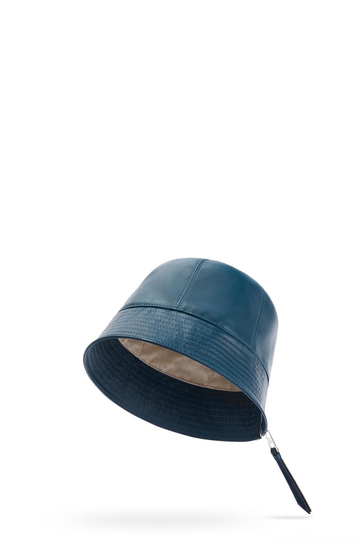 LOEWE LOEWE ☆Bucket hat in nappa calfskin ☆112.10.200