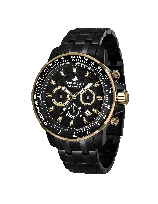 Rene Mouris - Steel - Traveller - Sporty Watch - 90105RM13