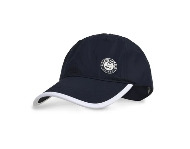 Blue caps with logo