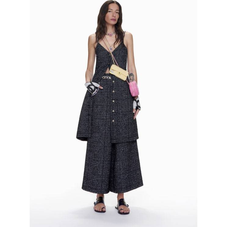 CHANEL CHANEL ☆trousers ☆P70101 V61714 M9999