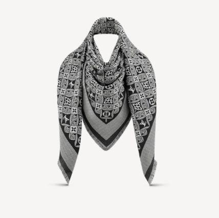 Louis Vuitton Louis Vuitton ☆MP2821  ☆SINCE 1854 MONOGRAM SHAWL