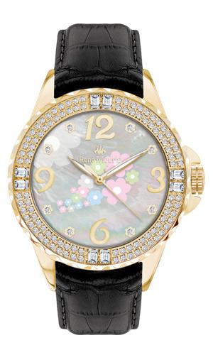 Rene Mouris - Leather - La Fleur - Fashion Watch - 50104RM4