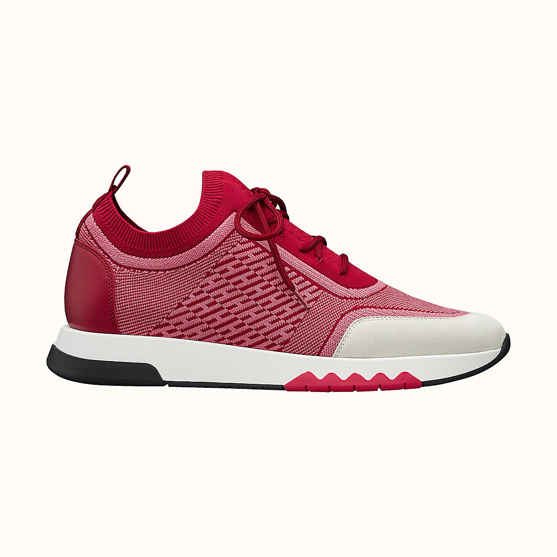 HERMES Addict sneaker Rose Baie/Rose Sorbet