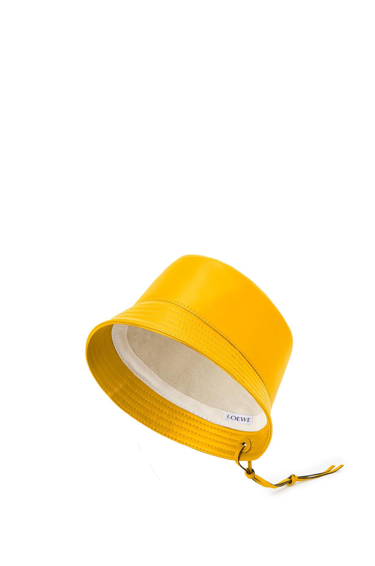 LOEWE LOEWE ☆Bucket hat in nappa clafskin ☆K000HB1X01