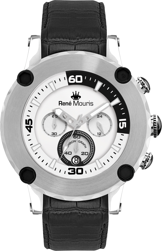 Rene Mouris - Santa Maria - Leather Sporty Watch - 90101RM1
