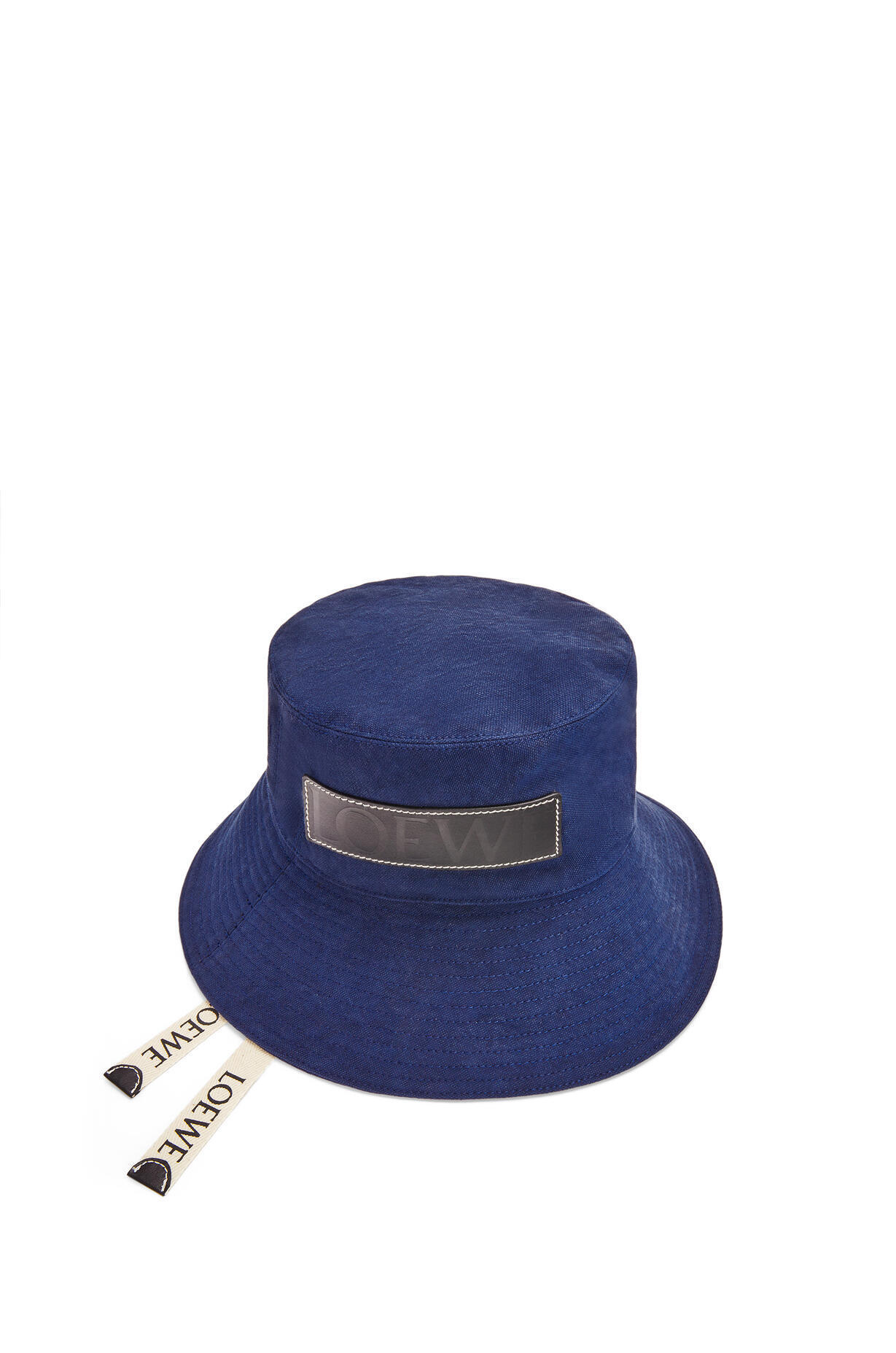 LOEWE LOEWE ☆Fisherman hat in canvas and calfskin ☆K820HF1X16