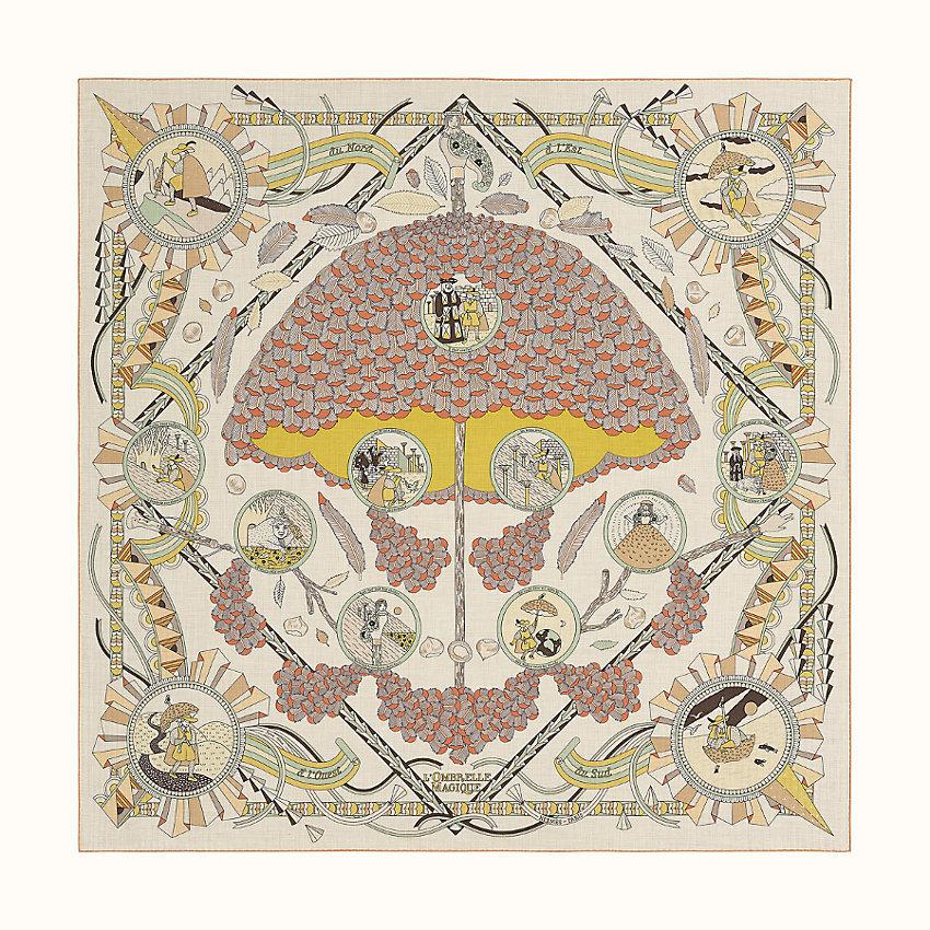 HERMES L'ombrelle magique shawl 140