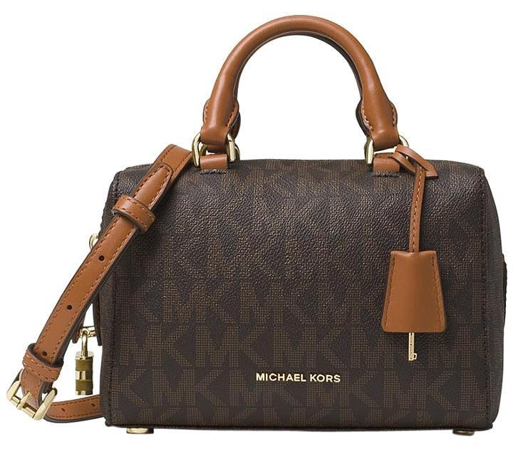Michael Kors Kirby Mini Brown Satchel