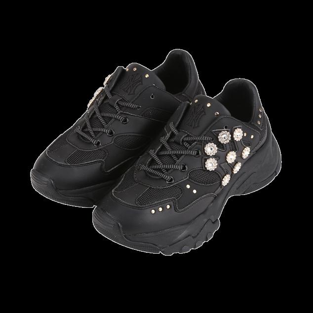 MLB Korea MLB keystone chunky sneakers black