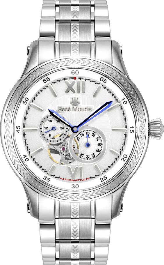 Rene Mouris Automatic Watch - Steel - Corona - 70106RM1