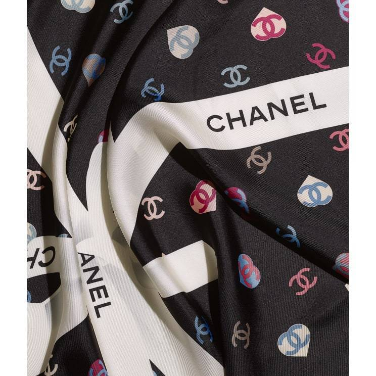 CHANEL ☆square scarf ☆AA7446 B05145 NB835
