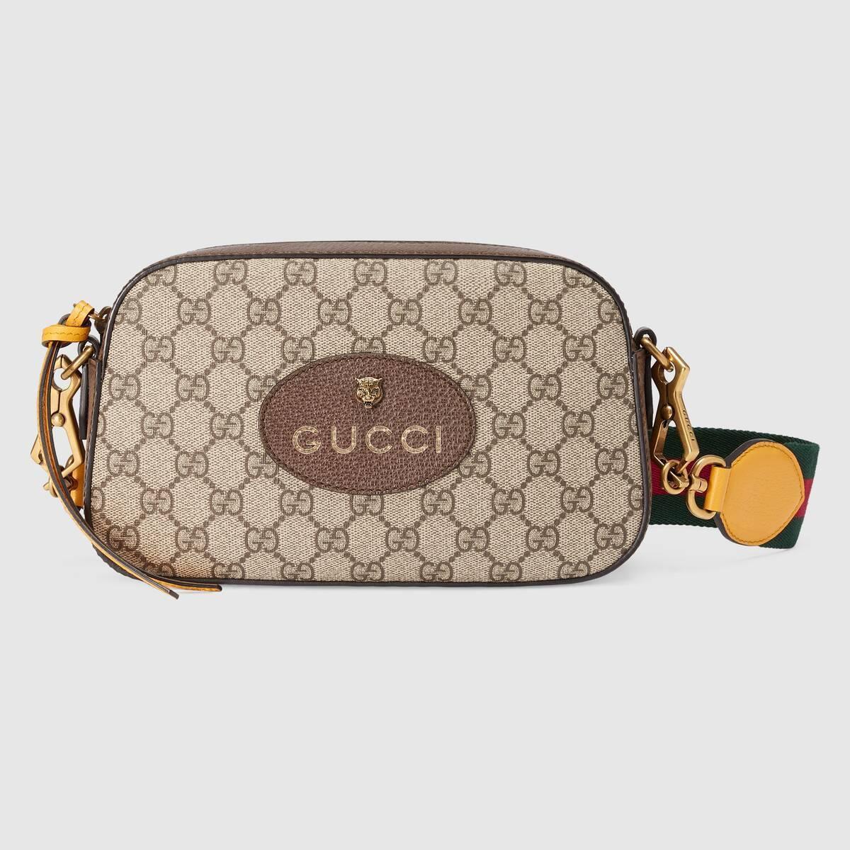 GUCCI Satchels Neo Vintage GG Supreme messenger bag 2