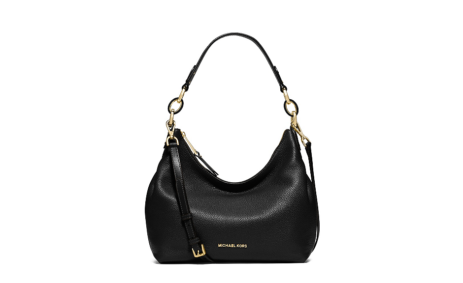 Michael Kors Michael Kors Isabella Medium Black Satchel