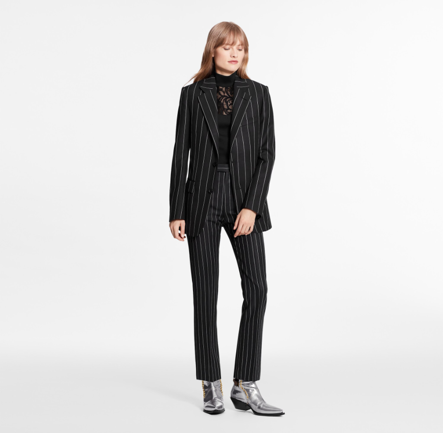 Louis Vuitton LV MASCULINE TAILORING SINGLE-BREASTED BLAZER JACKET