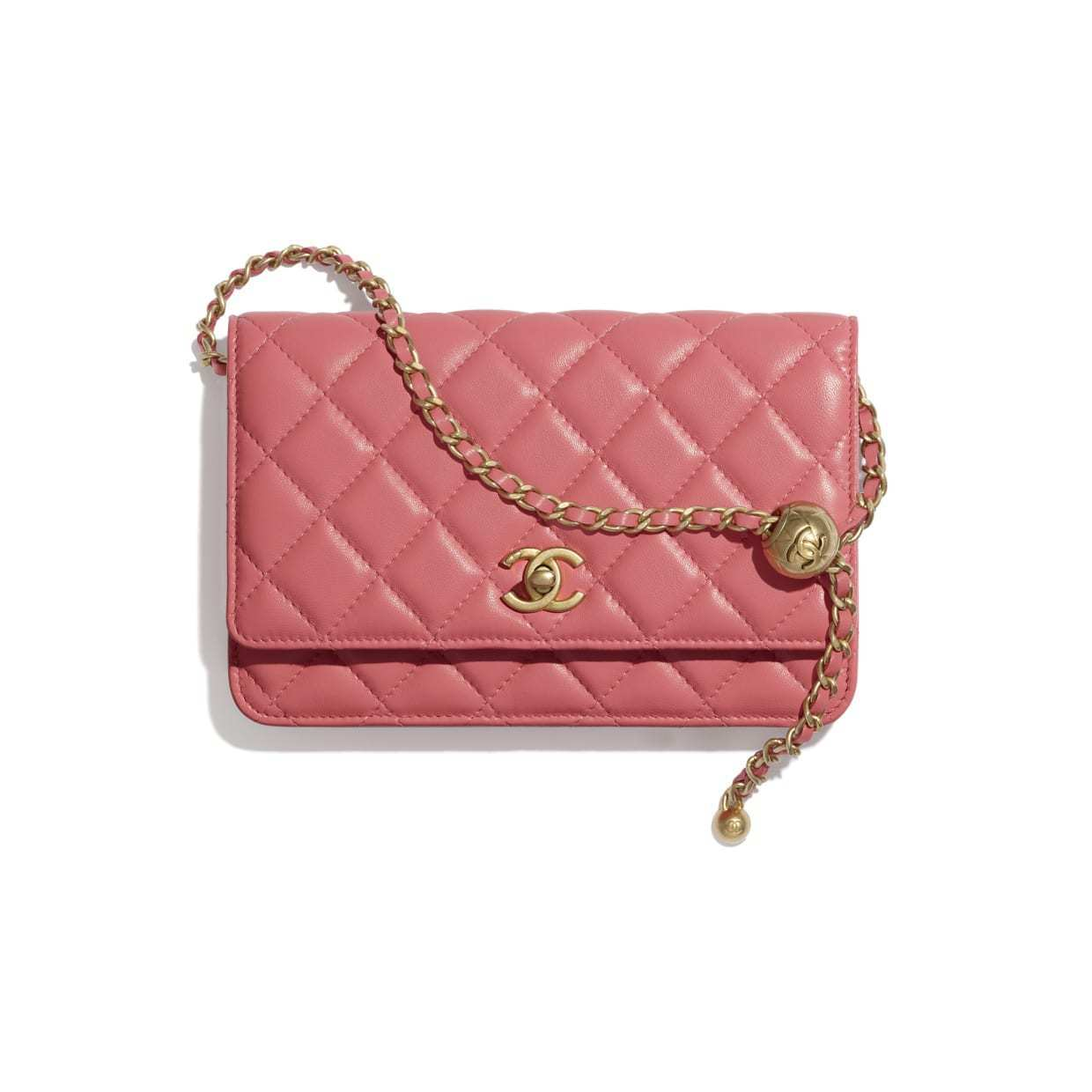 CHANEL CHANEL ☆wallet on chain ☆AP1450 B02916 NA106