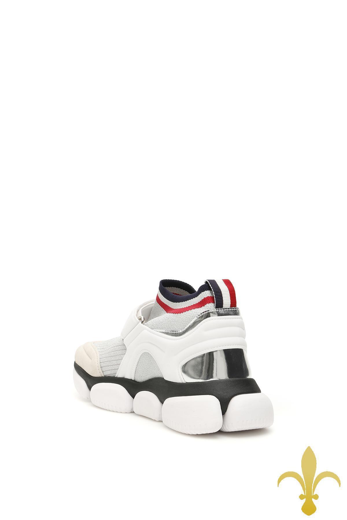 MONCLER MONCLER - Moncler basic baktha slip-on sneakers
