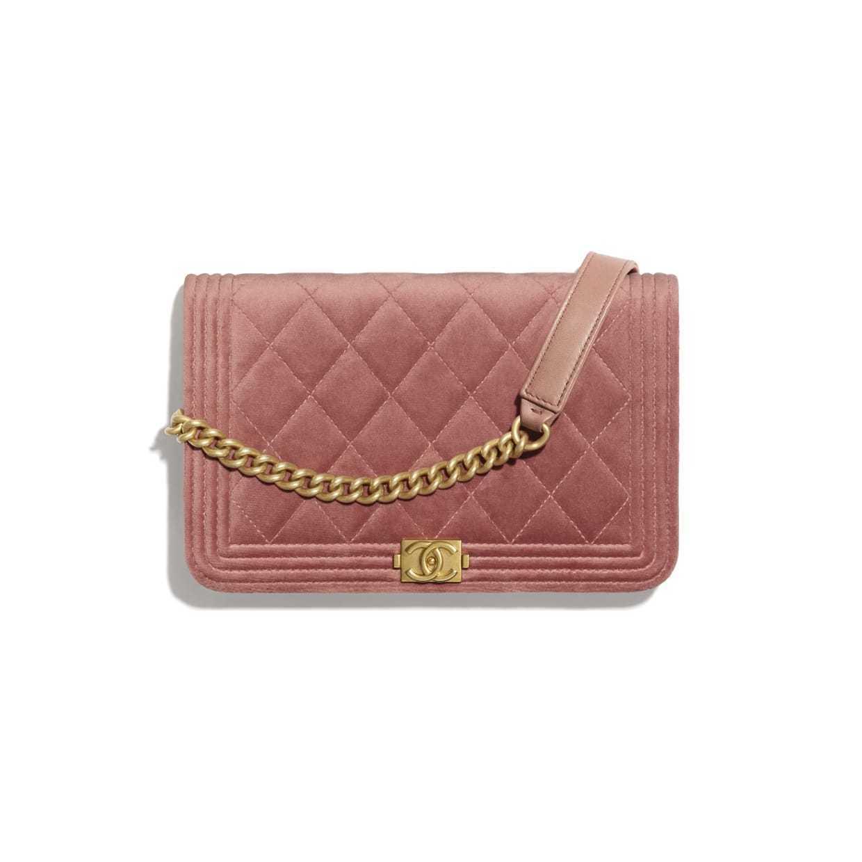 CHANEL CHANEL ☆boy chanel wallet on chain ☆AP1117 B02302 N5967