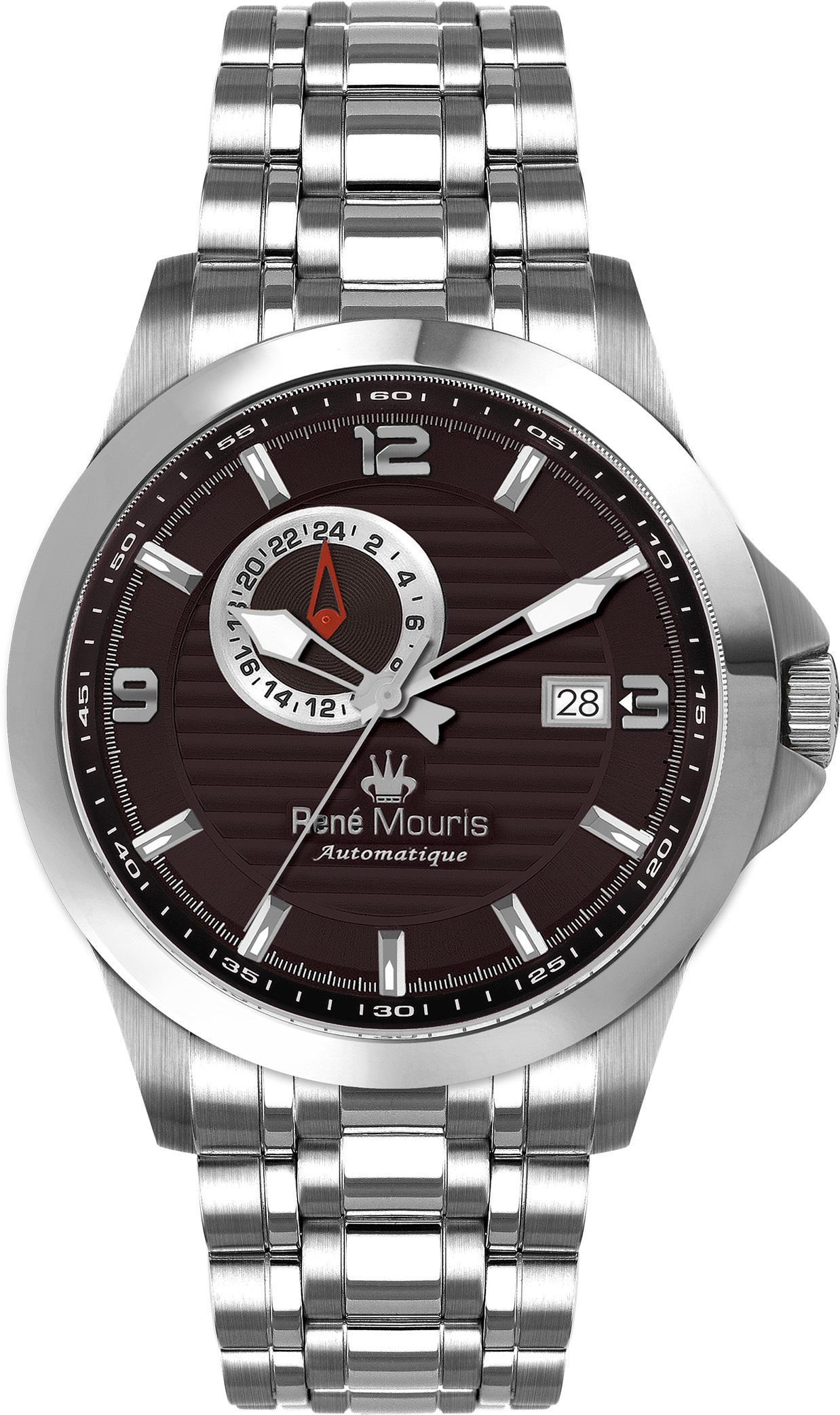 Rene Mouris Automatic Watch - Steel - Cygnus - 70104RM3