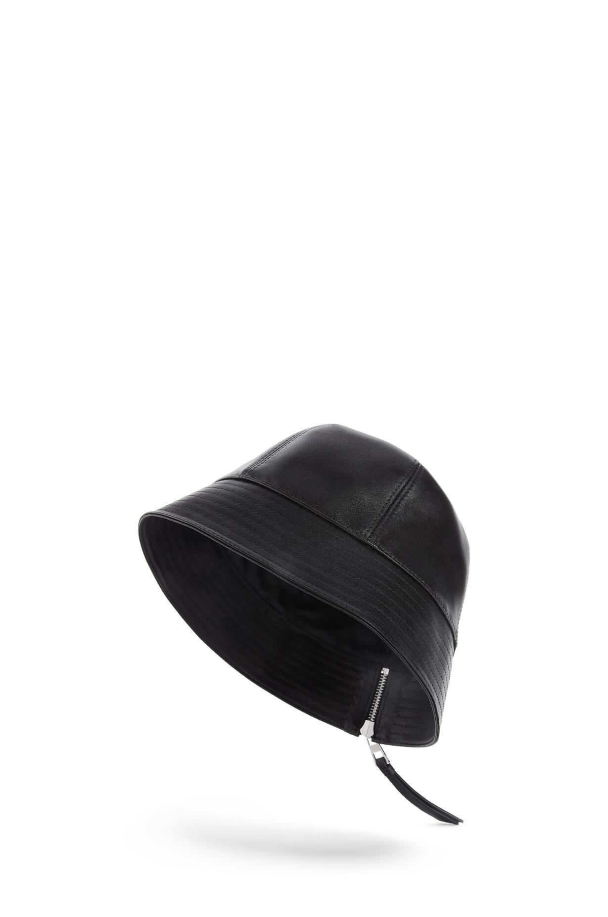 LOEWE LOEWE ☆Bucket hat in nappa calfskin ☆112.10.010
