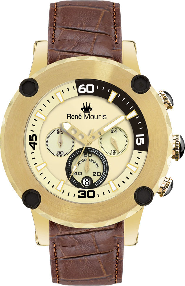 Rene Mouris - Santa Maria - Leather Sporty Watch - 90101RM7