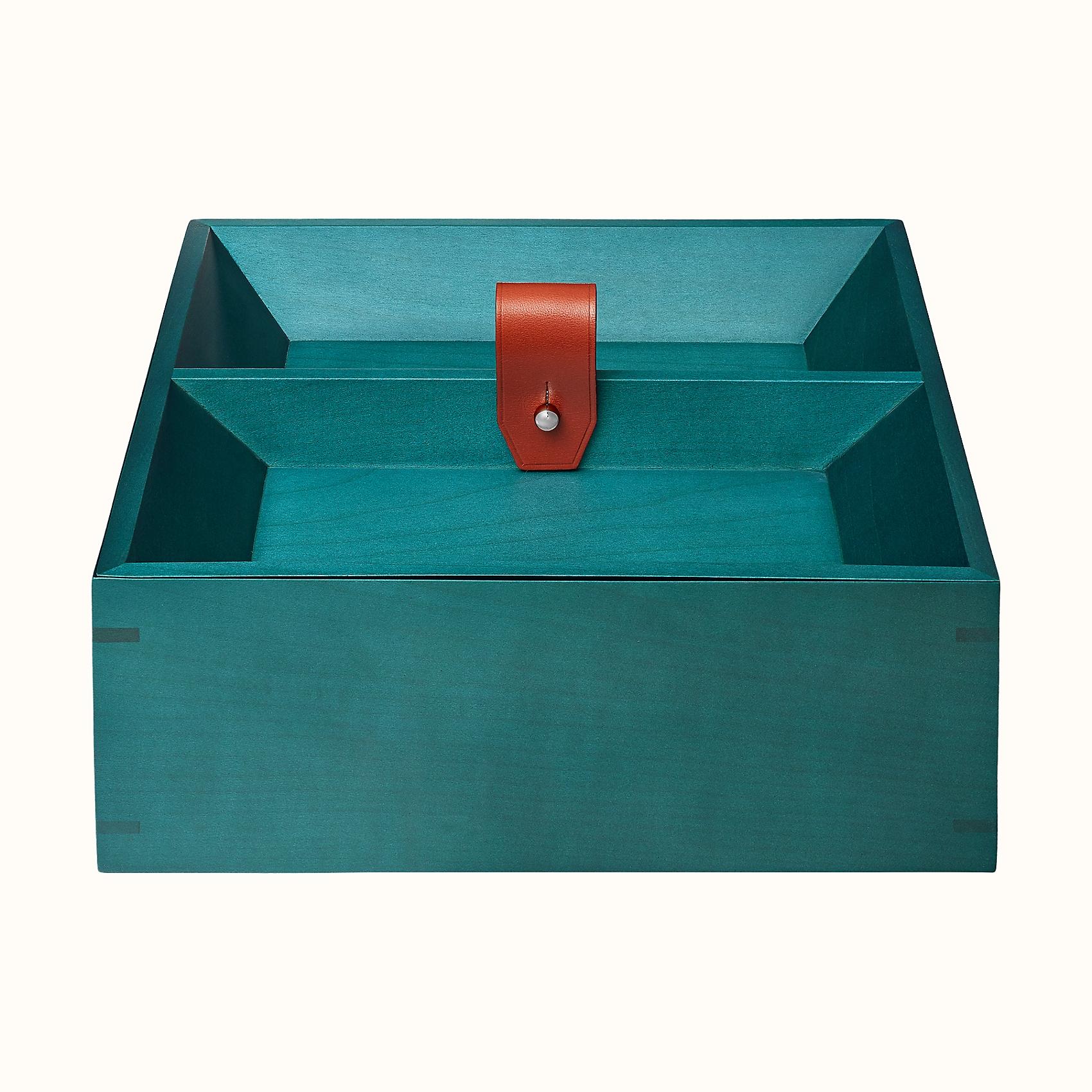 HERMES Tibi Square Box