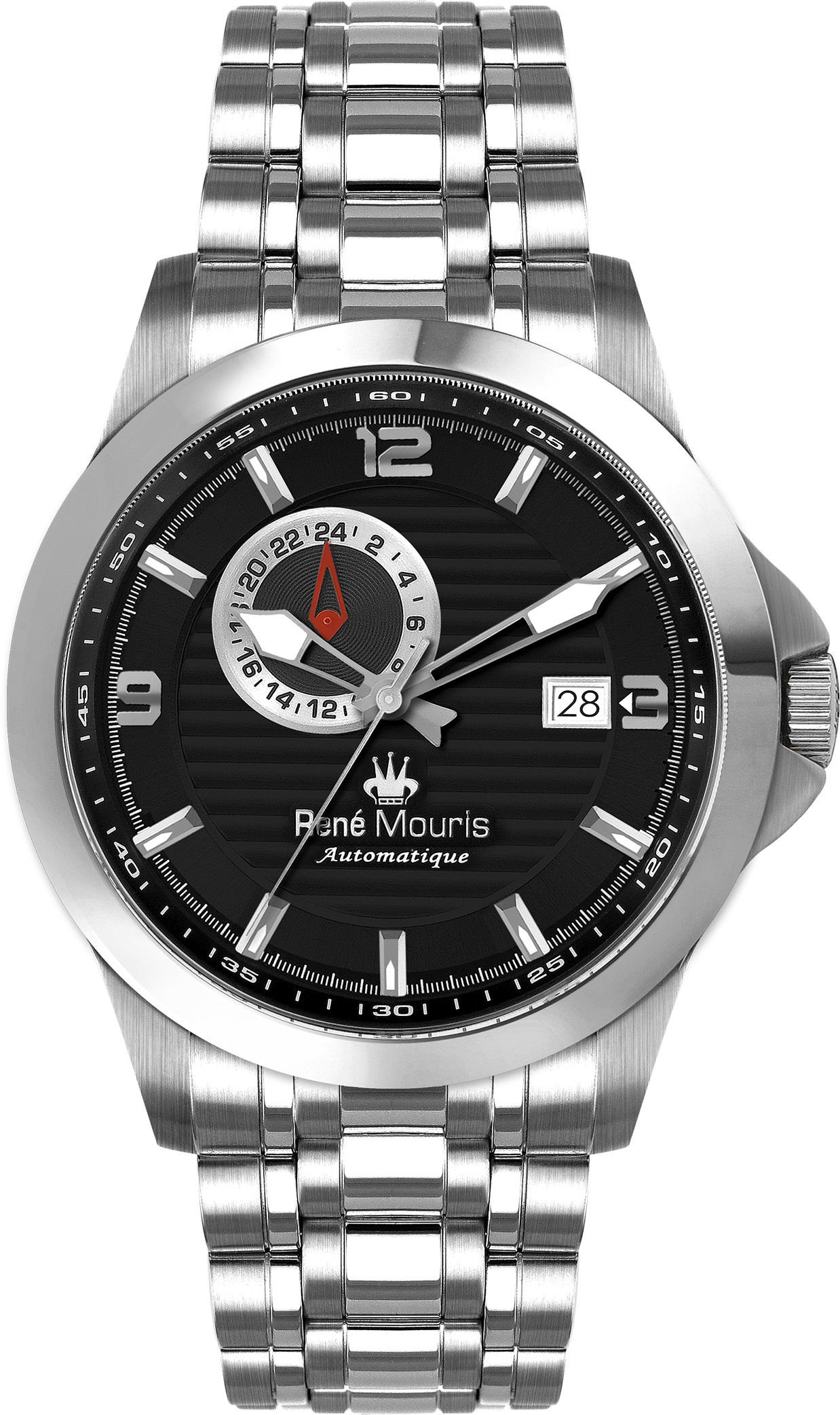 Rene Mouris Automatic Watch - Steel - Cygnus - 70104RM2