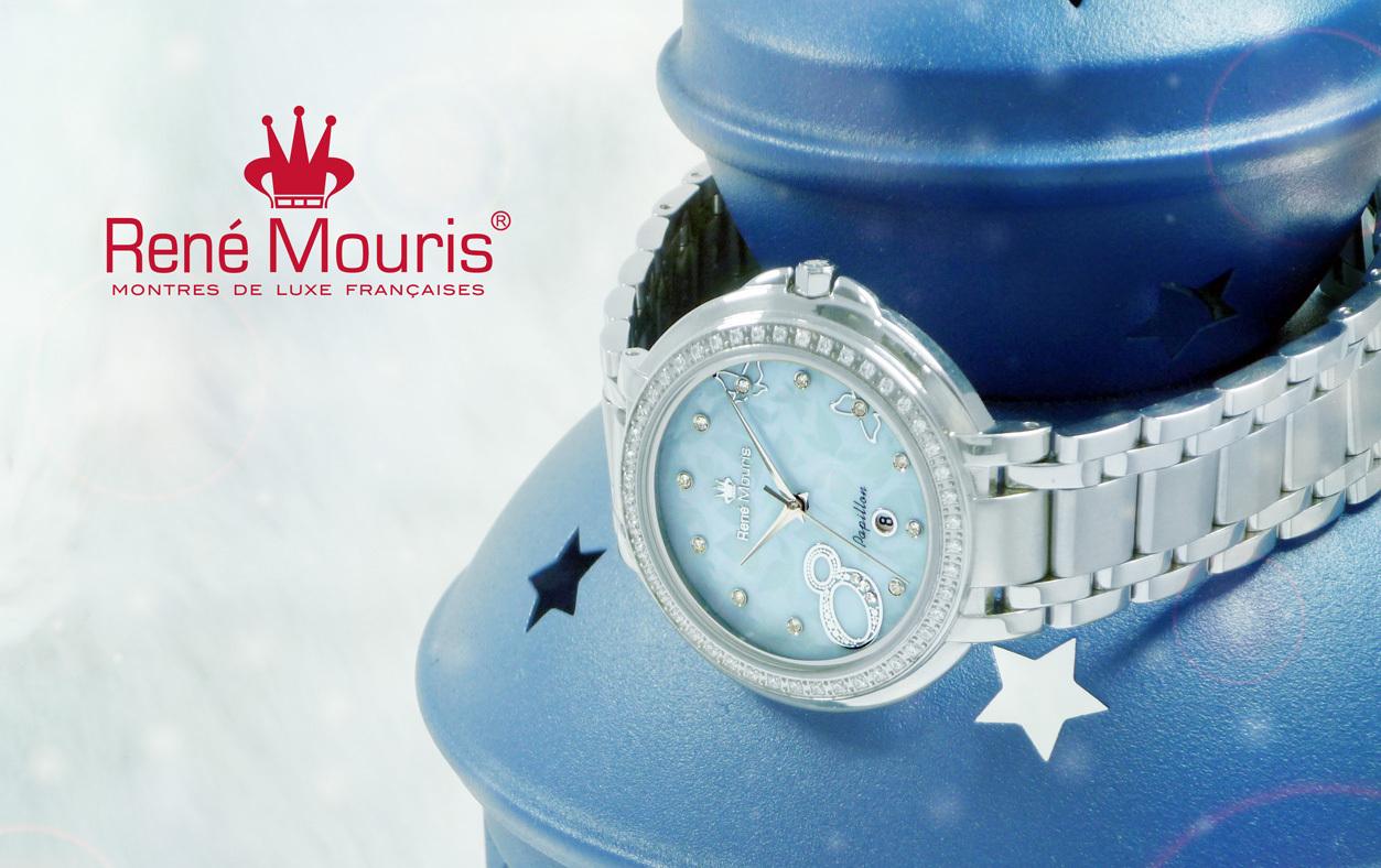 Rene Mouris - Fashion Watch - Papillon - 50111RM3
