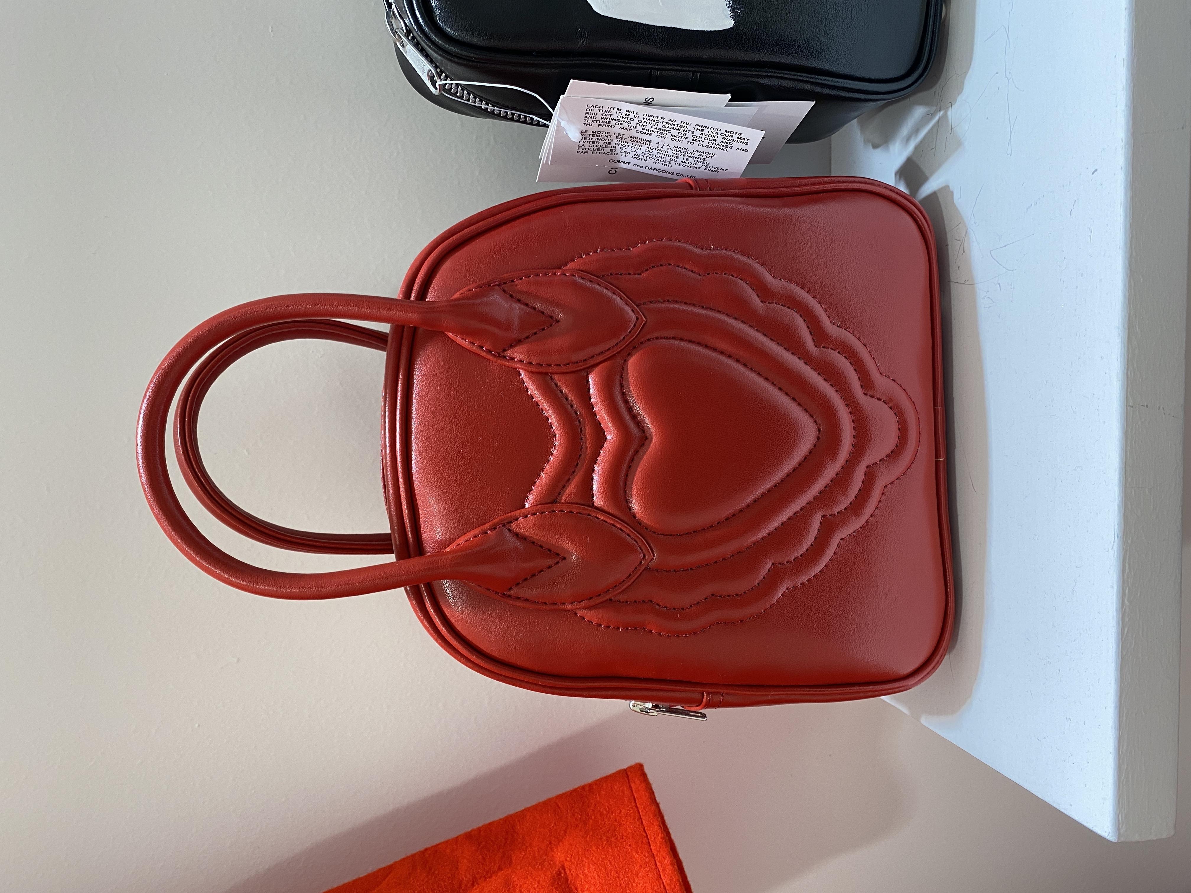 Comme des Garçons girl Logo Top handle Bag