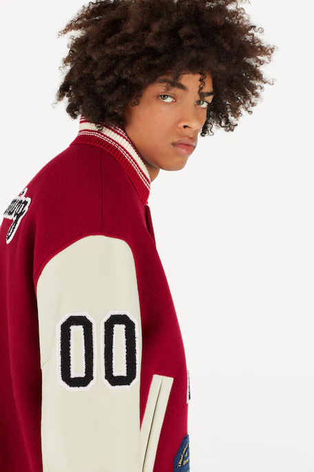 Louis Vuitton Baseball jacket with patches