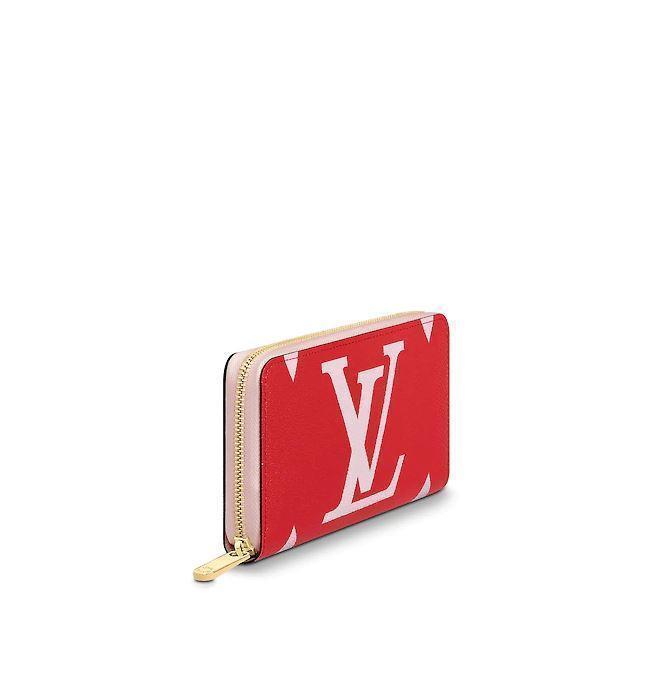Louis Vuitton ZIPPY WALLET(Rouge)