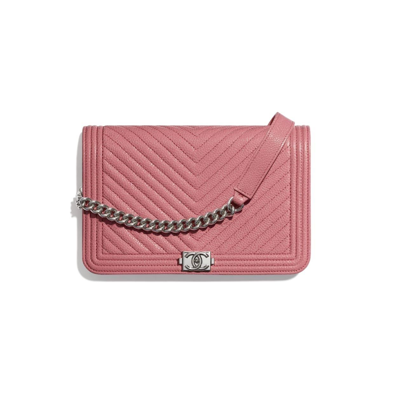 CHANEL CHANEL ☆boy chanel wallet on chain ☆AP1117 B02274 N5945